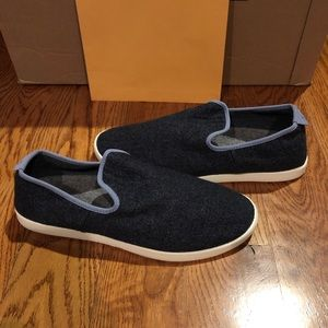 Allbirds men's wool loungers dark blue
